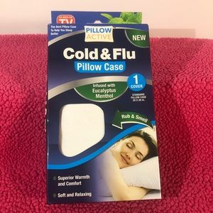 ⭐️ (3 For $20 SALE) Cold & Flu Pillow Case
